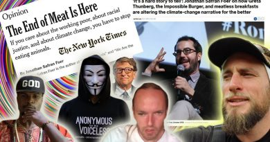 """NYT says """"The End of Meat is Here""""  