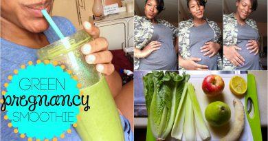 Pregnancy Green Smoothie | Pineapple Banana Yum Yum