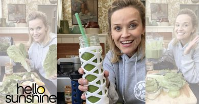 Reese Witherspoon's favorite green smoothie recipe courtesy of Kerry Washington