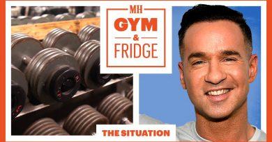 The Situation Shows His Gym & Fridge | Gym & Fridge | Men's Health