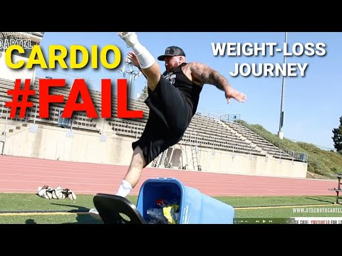 """WEIGHT-LOSS JOURNEY """"EPIC""""(CARDIO FAIL) 