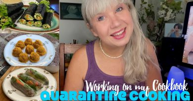 Working On My Cookbook: Quarantine Cooking Week 7