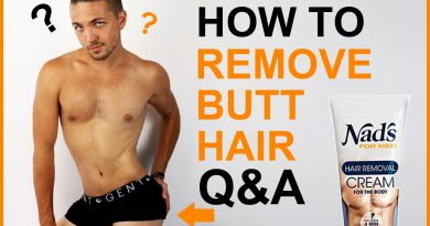 ✅ How To Remove Butt Hair | Q&A  -  Men's Grooming