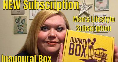 ⭐️NEW⭐️ Subscription// Durmen Box// Men's Lifestyle Box