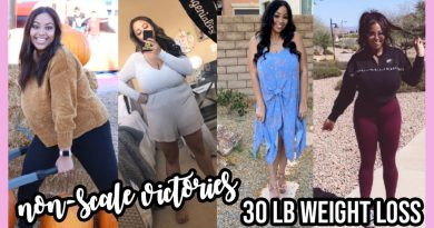 30 POUND WEIGHT LOSS NON SCALE VICTORIES! | 2020 WEIGHT LOSS JOURNEY