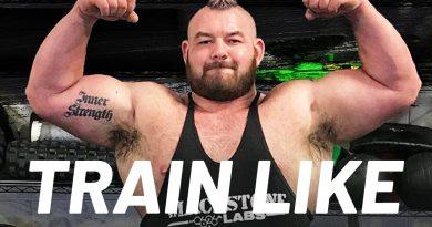 'World's Strongest Gay' Rob Kearney's Strongman Workout | Train Like a Celebrity | Men's Health