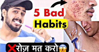 5 Bad Grooming Habits | Hindi | Grooming Tips For Men and Boys
