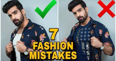 7 Fashion Mistakes Style tricks for Men Men's Fashion hacks  Style Tips for Indian men  HINDI
