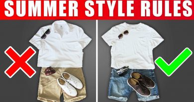 7 Summer Style Rules ALL MEN SHOULD FOLLOW! (Look BETTER This Summer)