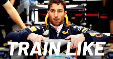 F1 Driver Daniel Ricciardo Flips Tires on His Farm to Stay Fit   Train Like a Celeb   Men's Health