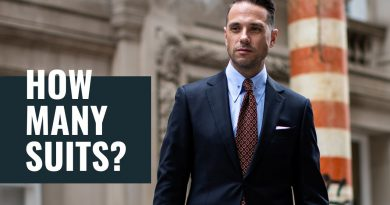 How Many Suits Do You REALLY Need? | Menswear & Men's Style Essentials