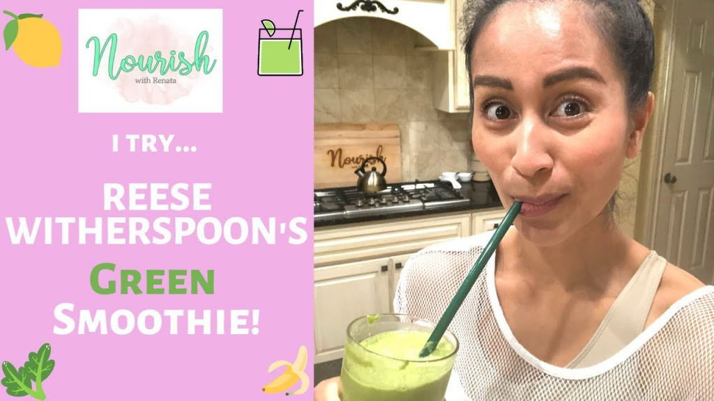 I Try Reese Witherspoon S Green Smoothie Recipe Man