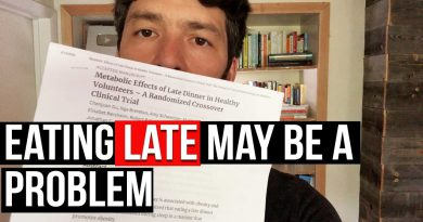 Late Eating Making You Fat? & New IF Fasting Science