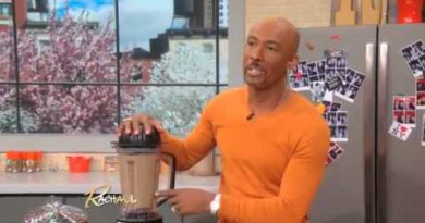 Montel Williams on Rachael Ray - Montel's Green Smoothie