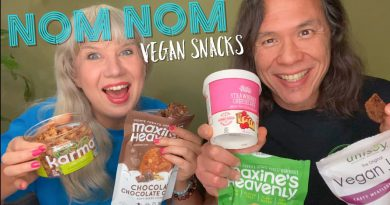 Munching & Reviewing Tasty Vegan Snacks: Jerky, Ice Cream, Cookies, & Nuts!