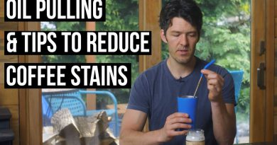 Oil Pulling & Coffee Teeth Stain Prevention Tips