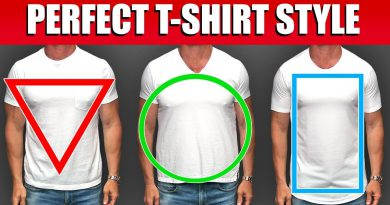 Pick The BEST T-Shirt Style For Your Body Type! (How to Look BETTER in a T-Shirt)