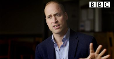 Prince William's breaks down a new way to tackle male depression - BBC