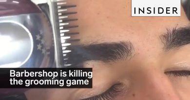This barbershop is killing the men's grooming game
