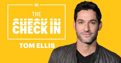 Tom Ellis On How He's Staying Fit & Healthy At Home   The Check In   Men's Health