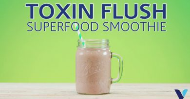 Toxin Flush Superfood Smoothie Recipe