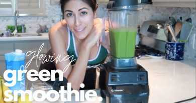 my go-to GREEN SMOOTHIE recipe