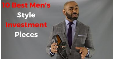 10 Best Men's Style Investment Pieces
