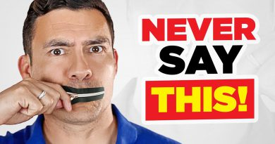10 Things SUCCESSFUL Men NEVER Say (Avoid THESE Words!)