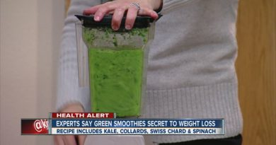 'Green Smoothie Girl' claims big weight loss as benefit to smoothie diet