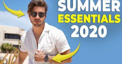 5 SUMMER ESSENTIALS EVERY GUY NEEDS   Men's Fashion 2020   Alex Costa