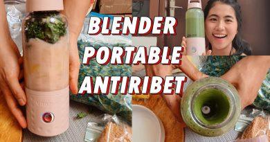 BLENDER PORTABLE WAJIB PUNYA!! RESEP GREEN SMOOTHIE FOR GLOWING SKIN