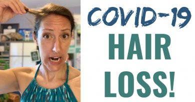 COVID SURGE NEWS:  COVID Related Hair Loss + Balding as COVID Risk