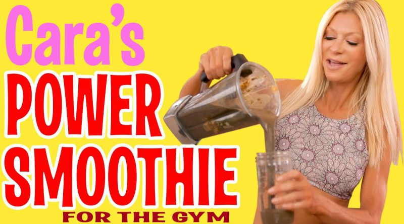 Caras Power Smoothie for the Gym