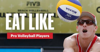 Everything PRO Volleyball Players Eat in a Day | Eat Like | Men's Health
