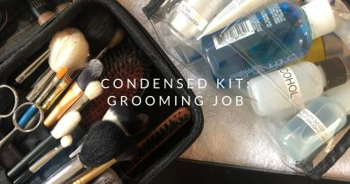 How I Condense My Kit For A Male Grooming Job