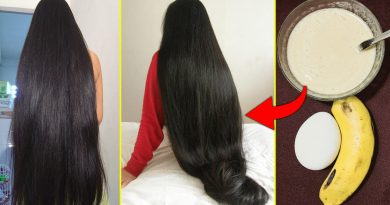 How To Get Long Shiny Silky Thick Hair Faster With Egg And Banana! Fast Hair Growth Challenge