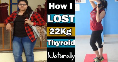 How To Lose Weight In Thyroid Naturally : My 22kgs Weightloss Journey