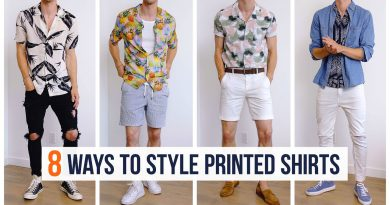 How to Style Printed Shirts for Summer | Men's Fashion | Outfit Inspiration