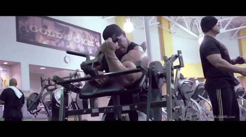 Jay Cutler bodybuilder documentary 2/4 LIVING LARGE