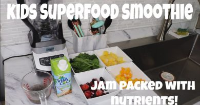 Kids Superfood Smoothie | Jam Packed With Nutrients!