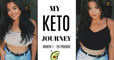 MY KETO WEIGHTLOSS JOURNEY DIARY : 1st MONTH -20lbs | Michelle Alvarez