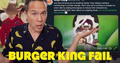 Meat Eaters & Vegans Go Ballistic Over Burger King Tweet & Video