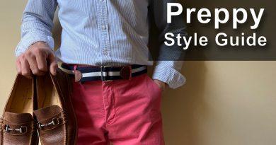 Men's Preppy Style Guide