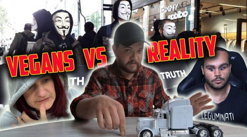 Vegan EXPLOITATION: TRUCKER exposes their LIES