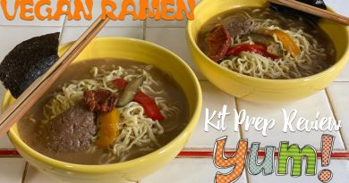Vegan Ramen Party! Cooking + Eating Mail Order Ramen Kits