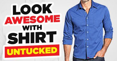 Wear Your Shirt Untucked And Look Amazing! Tucked Vs Un-Tucked (The 3 Rules!)