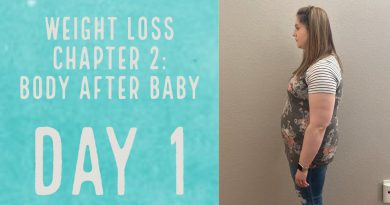 Weight Loss Journey Chapter 2: Body After Baby | DAY 1