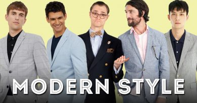 Why Modern Men's Style Only Works for One Body Type