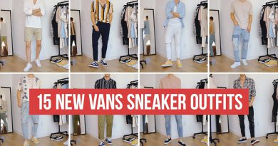 15 NEW Ways to Style Vans Sneakers | Men's Fashion | Outfit Ideas