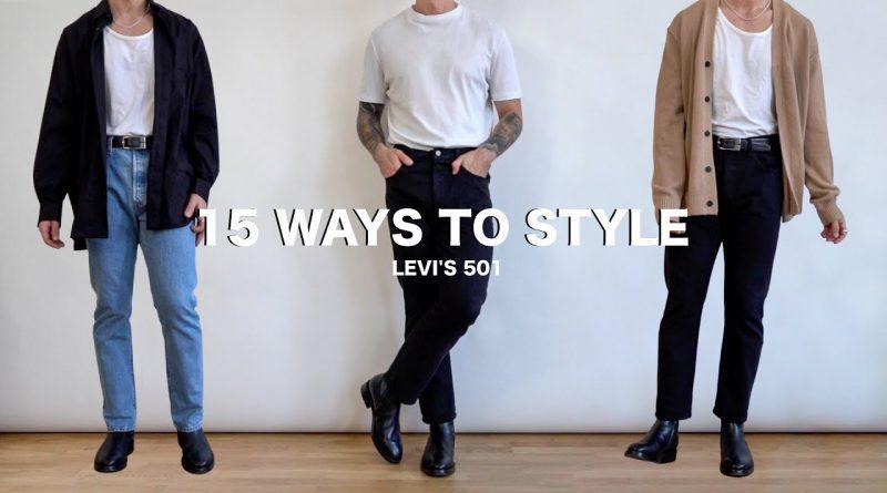 15 Ways To Style Levi's 501 Jeans | Men's Fashion